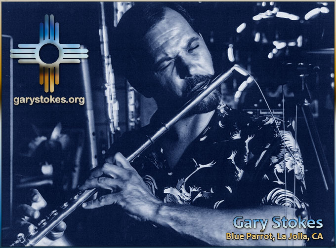 GARY STOKES PLAYING JAZZ FLUTE LIVE PERFORMANCE